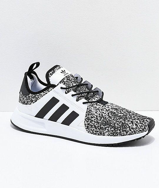 the latest f68e9 c7290 adidas Xplorer Grey, Black  White Shoes