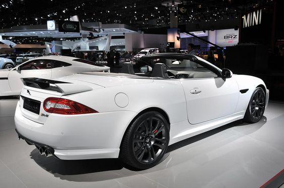 Jaguar XKR-S Convertible быстрый, дорогой и уже распродан