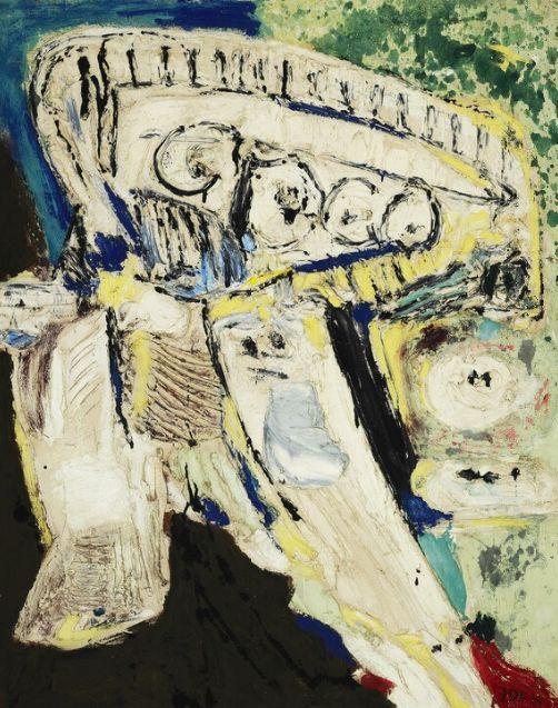 """""""Les années qui tiennent"""" by Asger Jorn (1957)"""