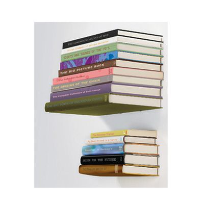 Want these book shelves :D