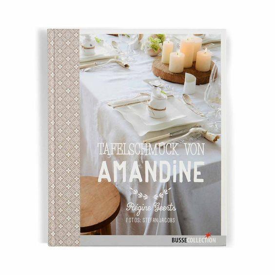 Buch Tafelschmuck von Amandine (19,95 €)