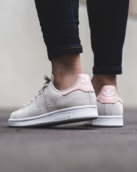 adidas Originals STAN SMITH Baskets basses pearl grey