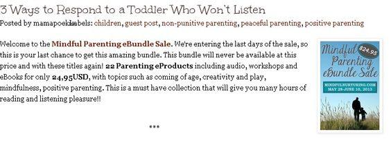 3 ways to respond to a toddler who won't listen