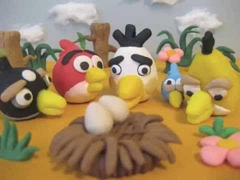 "Angry Birds ""Como hacer Tarjetas"" - YouTube"