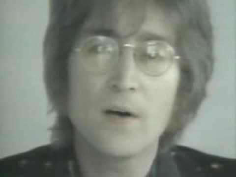 """JOHN LENNON  """"Imagine""""    Imagine there's no heaven  It's easy if you try  No hell below us  Above us only sky  Imagine all the people  Living for today…"""