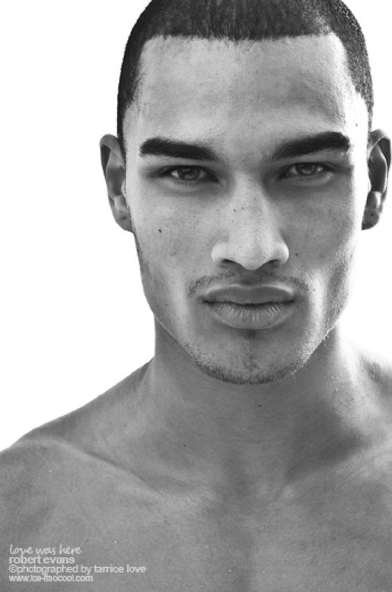 Rob Evans...! Most wanted Black Male Model In The UK ...