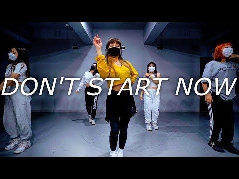 Dua Lipa Don T Start Now Naria Choreography Youtube Choreography Lipa Start Now