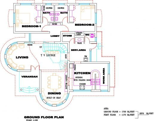 Remarkable Kerala House Designs And Floor Plans Kerala Villa Plan And Keralahousedesigns Com Floo Kerala House Design Modern House Floor Plans Free House Plans