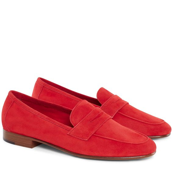 Suede Classic Loafer - Flamma