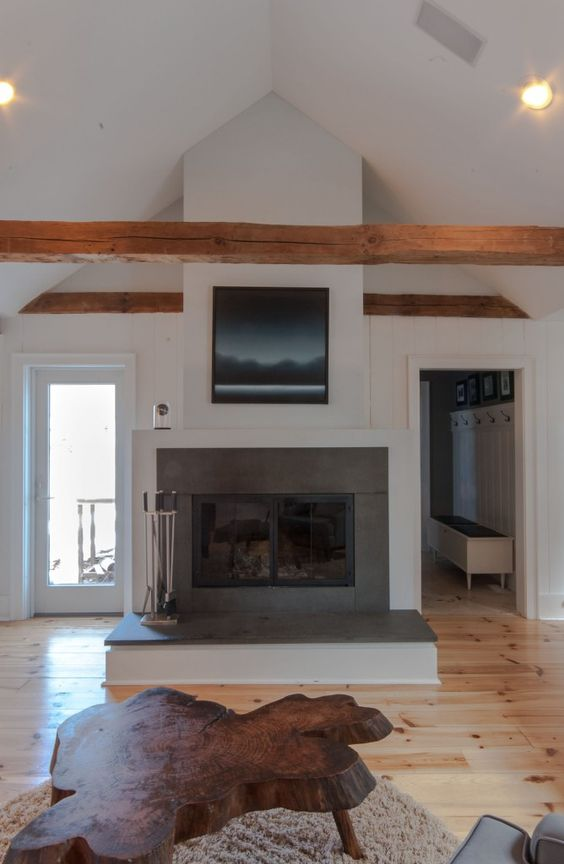 Wood Burning Beams And Wood Plank Walls On Pinterest