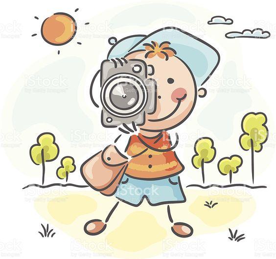 Fotógrafo download vetor e ilustração royalty-free