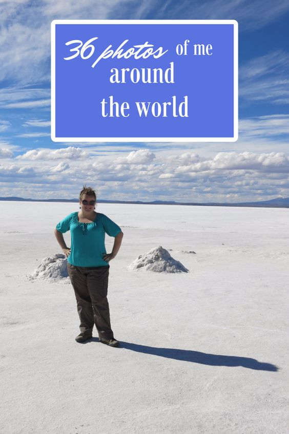 Salar d'Uyuni. Where am I? 36 photos of me around the world