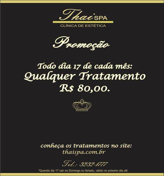 Especial de Beleza qualquer tratamento por R$ 80,00