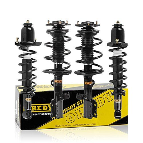 Full Set 4pcs Quick Strut Assembly Kit Front Rear Complete Shock Absorber For 2003 2004 2005 2006 2007 2008 Toyota Corolla Toyota Corolla Pontiac Vibe Corolla