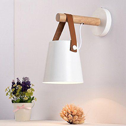 Lytsm Wandleuchte Schlafzimmer Gurtel Lampen Kreative Holz Kunst
