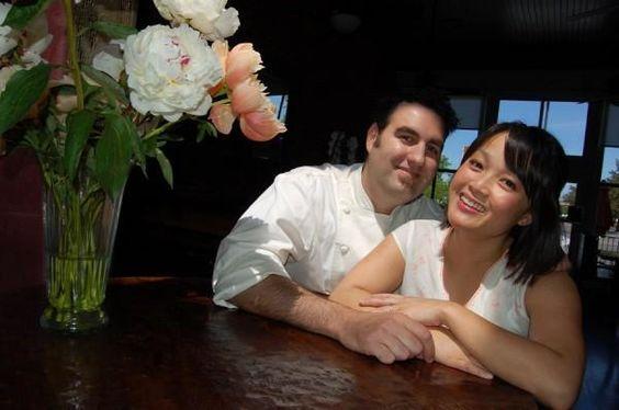 owner Island Ainsworth of the amazing Saffron Mediterranean Kitchen