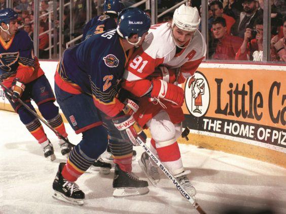 Sergei Fedorov, 1997 Stanley Cup Playoffs