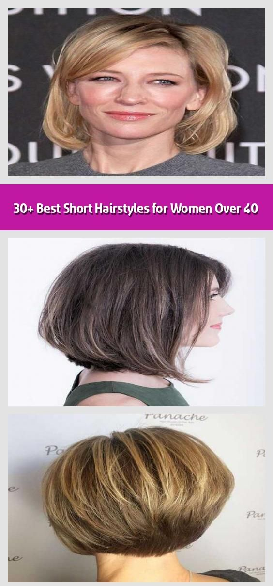 30 Best Short Hairstyles For Women Over 40 Having A Hairstyle That Suits You The Best Is C Short Hairstyles For Women Short Hair Styles Womens Hairstyles
