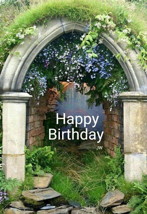 Pin By Nancy Lach On Birthday Cards Dream Garden Garden Arch