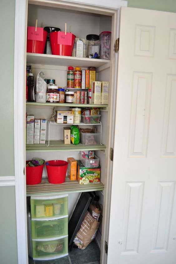 31 Days: Day One: Organizing the pantry
