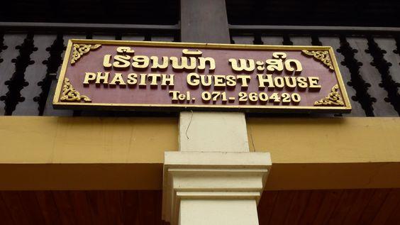 Guest House Phasith. #LuangPrabang #Laos