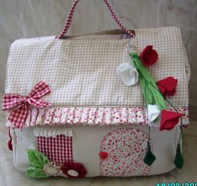 *VALEN PATCH*: Bolsa Porta Fraldas