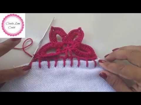 Como Fazer Bico De Croche Carreira Unica Passo A Passo Youtube