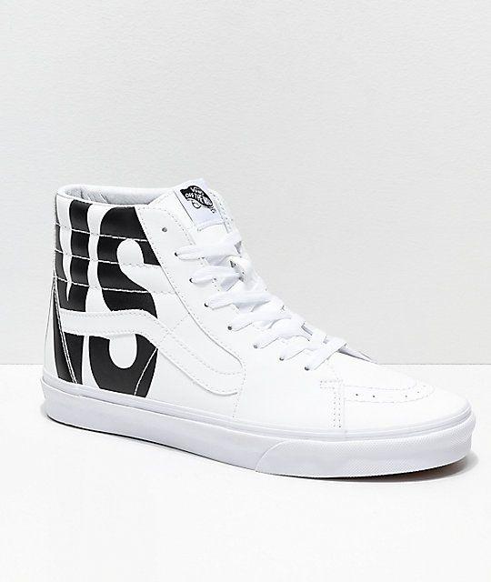 zapatillas vans blancas hombre