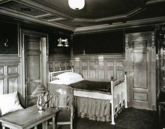 Inside The Titanic Ship Before It Sank