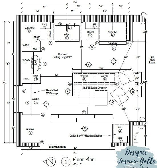 Winning Student Interior Design Competition Kitchen Under 20k Kitchen Design Interior Desig In 2020 Student Design Competition Floor Plan Drawing Design Competitions
