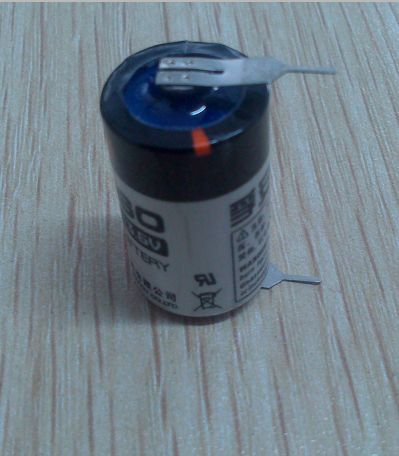 3.6V 1/2AA  ER14250 with pins Saft LS14250  Tadiran TL-4902  TL-5902 alternative  lixf@fansobattery.com