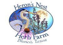 Heron's Nest Herb Farm, Blanco Texas