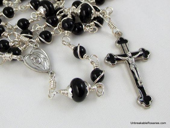 Unbreakable Rosaries Holy Face of Jesus by unbreakablerosaries