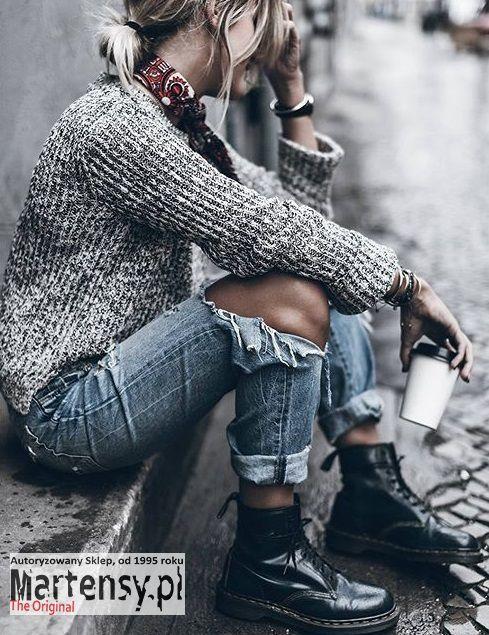 Buty Dr Martens 1460 Cherry Red Arcadia 13661601 Boho Winter Outfits Fashion Winter Boho