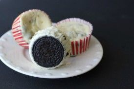 oreo | How to Make Divine Oreo Cheesecake Cupcakes