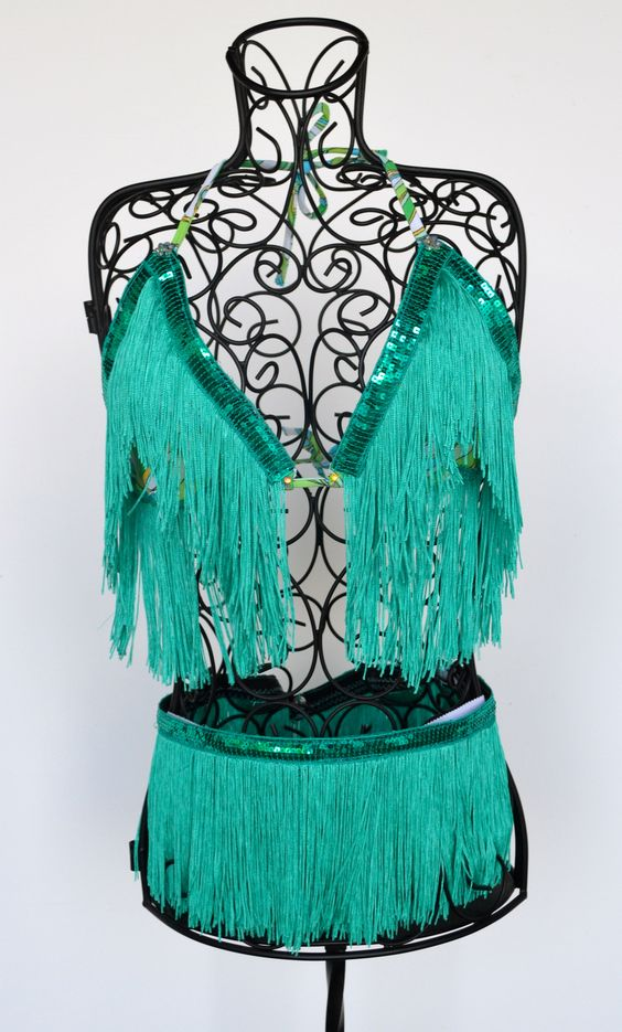 Beautiful turquoise shimmy set!  Available at www.vavavette.com!