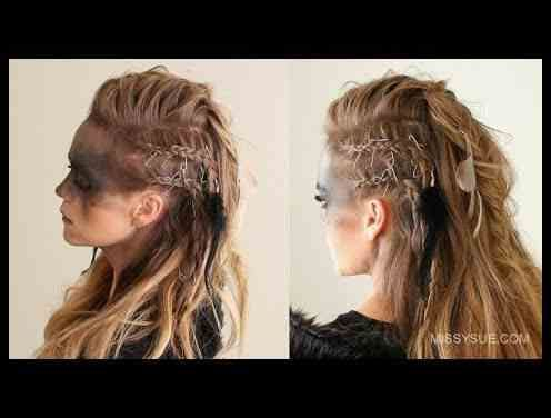 Wikinger Frisuren Fur Frauen Und Manner Inspirationen Und Wikinger Frisuren Viking Frisur Geflochtene Frisuren