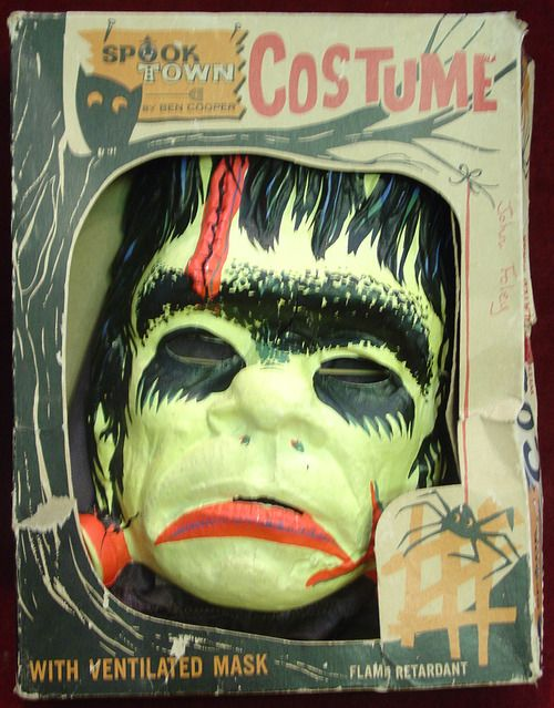 Wow....a blast from the past right? Costumes back then had those masks you could hardly see out of but what fun it was to wear it! I was lucky enough to be born on Halloween! I still get ribbed about being a witch! I'll get you my pretty! Hahahahahaaaaa.