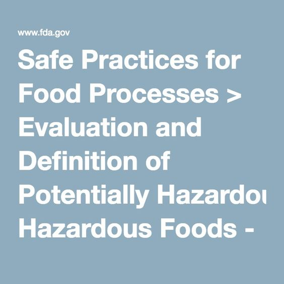 Safe Practices for Food Processes u003e Evaluation and Definition of - definition evaluation