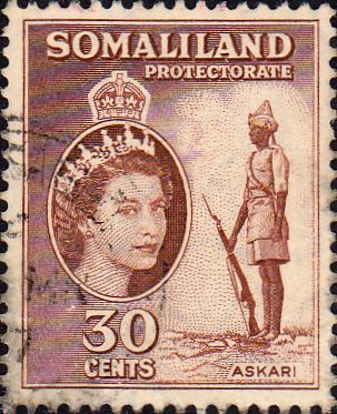 Somaliland Protectorate 1953 Queen Elizabeth SG141 Fine Mint Scott 132 Other Somaliland Stamps HERE