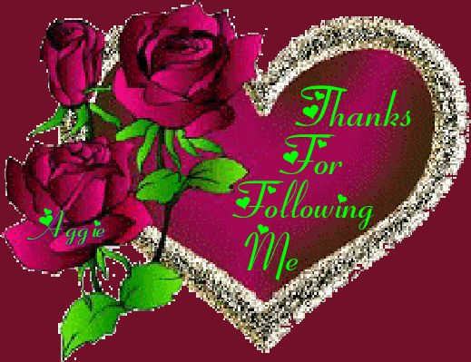 Thanks for Following Me.  I HOPE YOU HAVE ENJOYED MY BOARDS AND THAT YOU WILL CONTINUE TO COME BACK. MAY GOD BLESS YOU AS MUCH AS YOU HAVE BLESS ME.