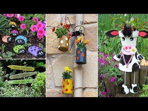 Youtube Garden Crafts Diy Garden Crafts Diy Garden