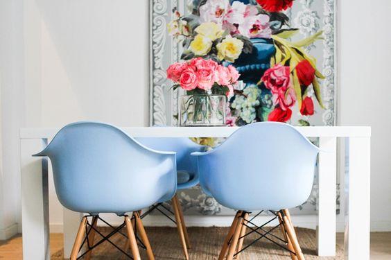 Exquisite Architecture & Elegant Florals in a Fashion Designer