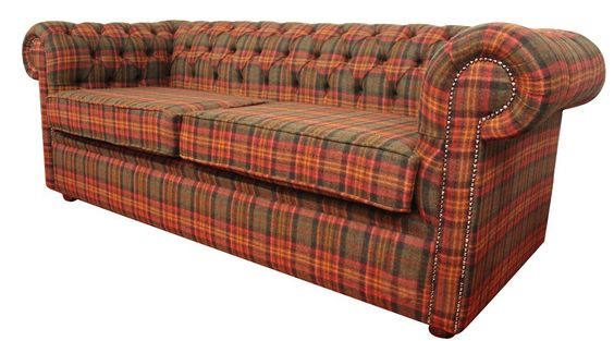 Tartan chesterfield sofa ode to tartan pinterest for Sofa 500 euro