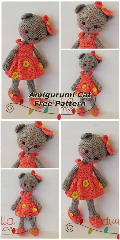 Kitty Mod Free Cat Amigurumi Pattern - Ami Amour | 1024x512