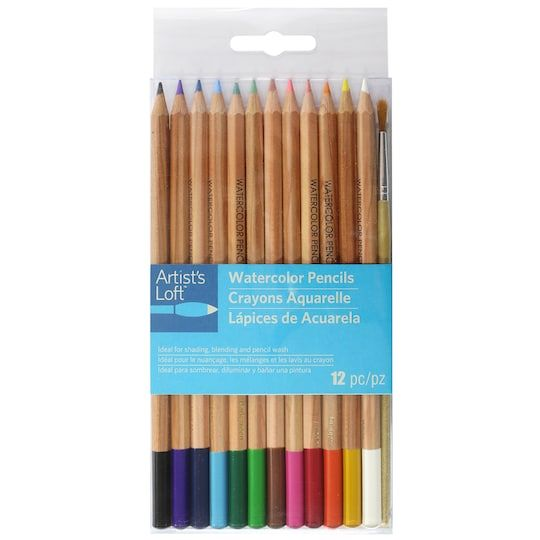 Watercolor Pencil Set By Artist S Loft Michaels Watercolor