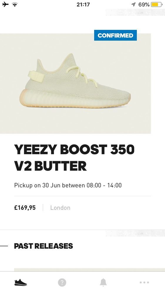 adidas yeezy boost 350 v2 Butter UK 9.5 Confirmed Order