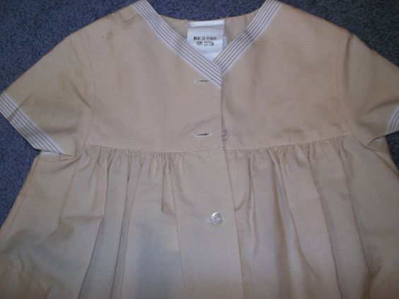French Baby Ensemble Vintage French Children s Clothing
