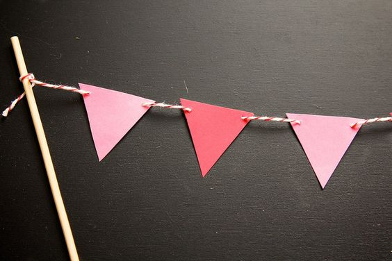 How to make a cake banner by Joy the Baker