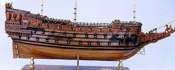 Souverain des Mers de Charles Ier Stuart.